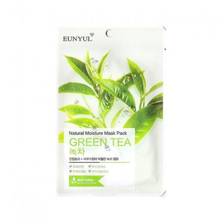 Маска с зеленым чаем. EUNYUL.