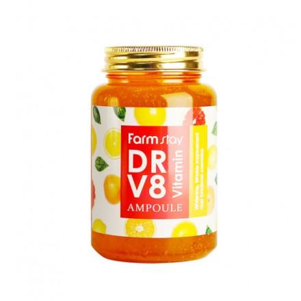 Ампульная сыворотка с витаминами, 250мл. FarmStay.