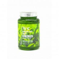 Многофункциональная ампульная сыворотка с зеленым чаем 250 ml ,. FarmStay.