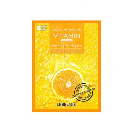 Маска тканевая с витаминами, 23г. Lebelage.