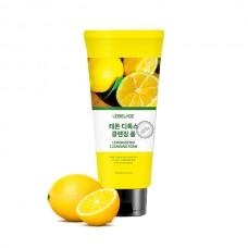 Детокс-пенка для умывания с лимоном, 180мл. Lebelage.
