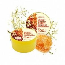 Увлажняющий успокаивающий гель с экстрактом мёда, 300мл. Lebelage.