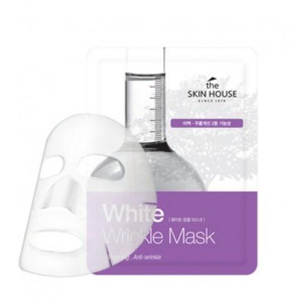 Тканевая маска от морщин и пигментации. THE SKIN HOUSE.